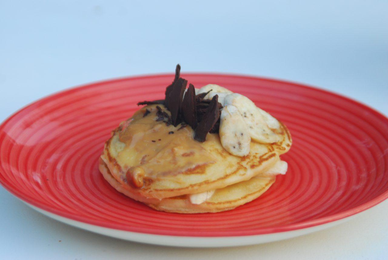 Dulce De Leche Pancakes