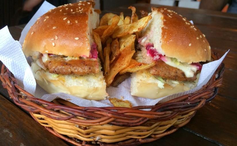 Best Chicken Burger in India!